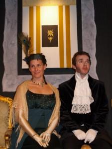 Sine Lynch as Mrs. Elton in Emma by Jane Austen